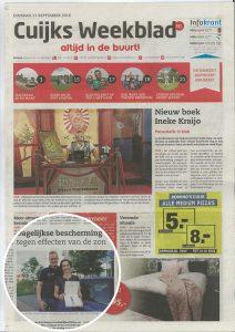 Sunday Brush Interview Cuijks Weekblad