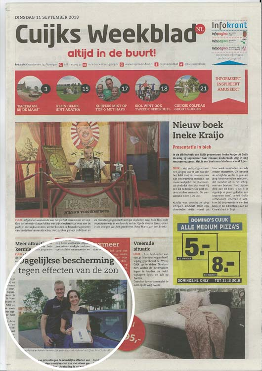 Sunday Brush Interview Cuijks Weekblad