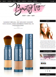 Sunday Brush review Beautytag