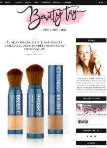Sunday Brush review Beautytag