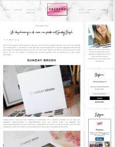 Sunday Brush review Zazazoo