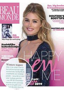 Beau Monde-cover-publicatie-jan-2019-Sunday Brush