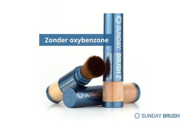 Zonnebrand zonder oxybenzone