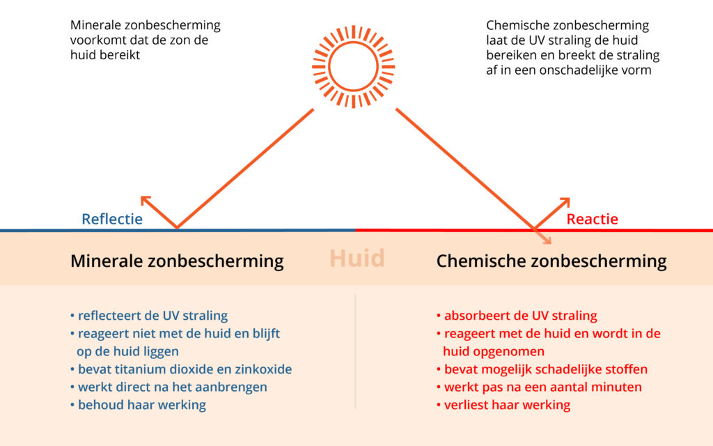 Sunday Brush - Infographic minerale zonbescherming