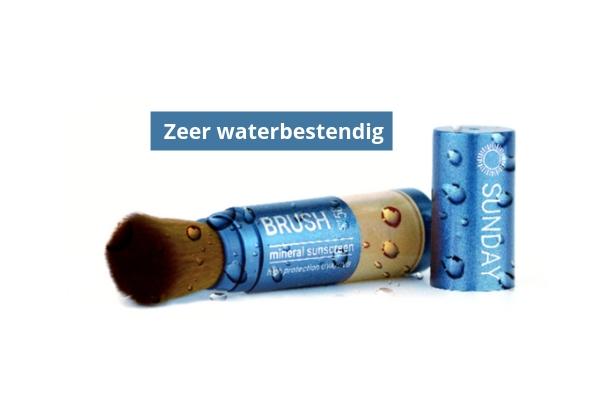 Zeer waterbestendig - Sunday Brush