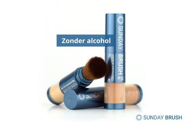Zonbescherming zonder alcohol