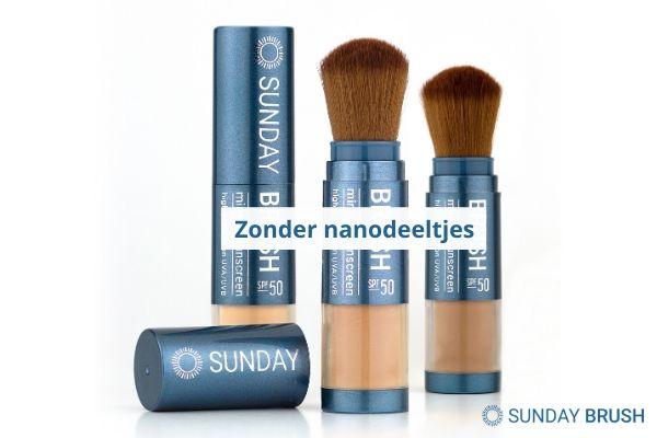 Zonnebrand zonder nanodeeltjes