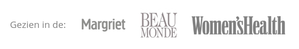 Gezien in de: Margriet, Beau Monde en Women's Health