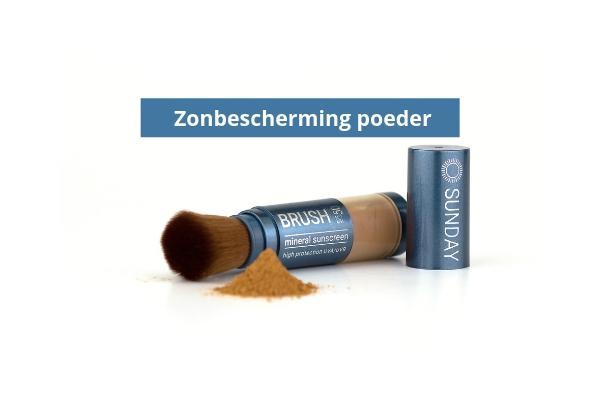 Zonbescherming poeder - Sunday Brush
