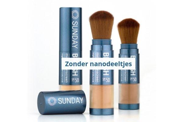 Zonnebrand zonder nanodeeltjes - Sunday Brush