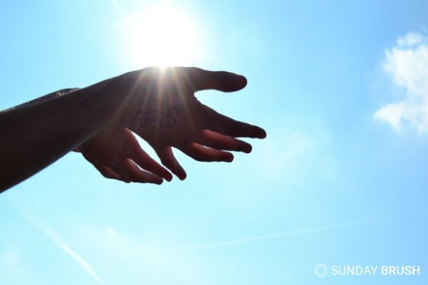 Blogfoto - Zonneallergie en de zon