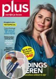Sunday Brush Cover publicatie Plus magazine3