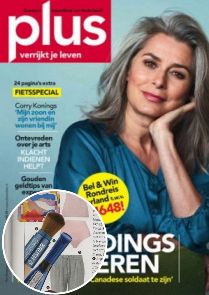 Sunday Brush Cover publicatie Plus magazine3