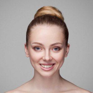 Model voor huidtint Fair
