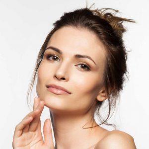 Model voor huidtint Tan