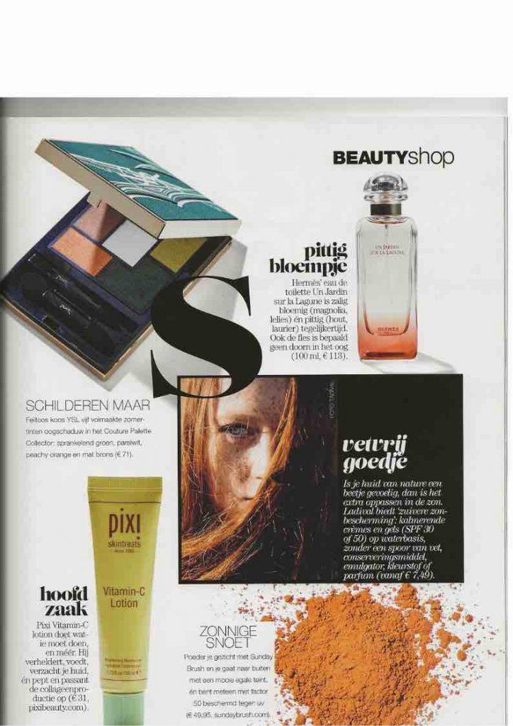 Linda. magazine Sunday Brush publicatie 2