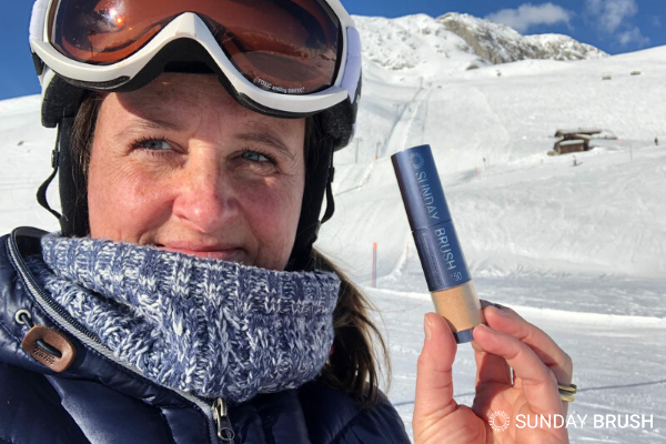 5 tips voor een goede zonbescherming op wintersport- Sunday Brush