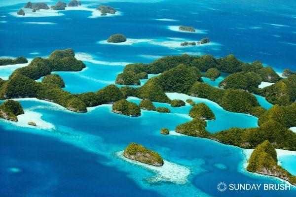 Blogfoto - Sunday Brush - Palau verbiedt zonnebrand met oxybenzone