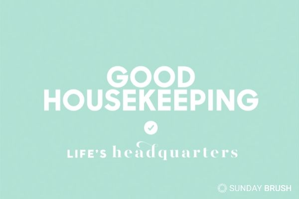Blogfoto Sunday Brush Goodhousekeeping
