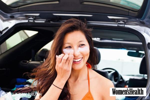 Blogfoto Sunday Brush - Womens Health Mag - Kan ik een zonnebrand allergie hebben?