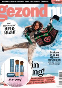 Magazines Cover publicatie Gezondnu - Sunday Brush