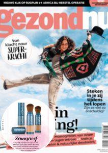 Magazines Cover publicatie Gezondnu - Sunday Brush