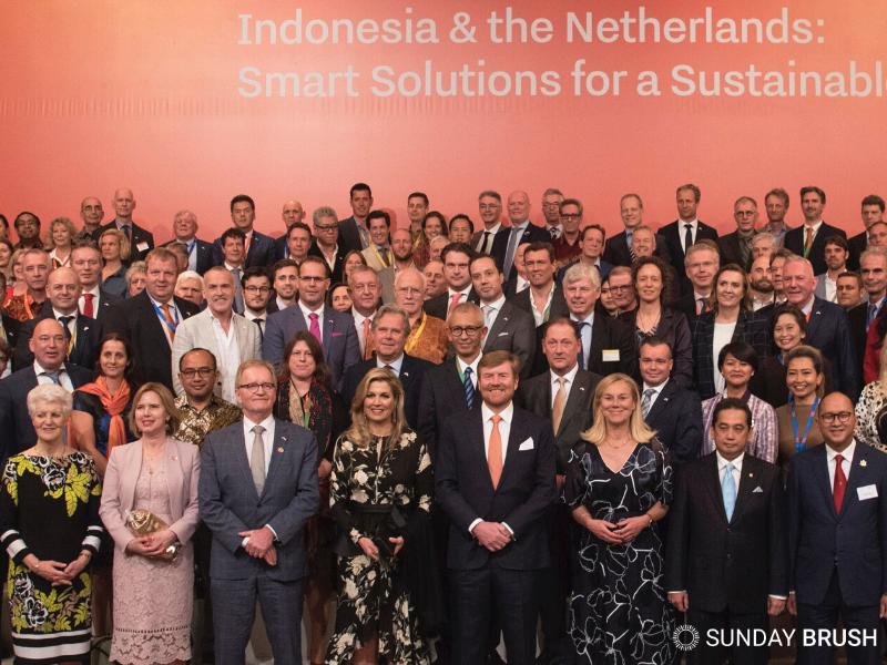 Nicole Vermeer op Koninklijke foto handelsmissie Indonesië maart 2020