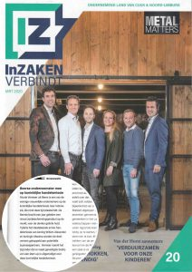 Cover publicatie InZaken Land van Cuijk Sunday Brush