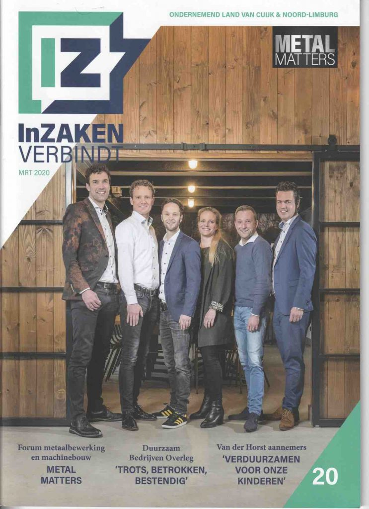 InZaken Land van Cuijk Cover Publicatie Sunday Brush maart 2020