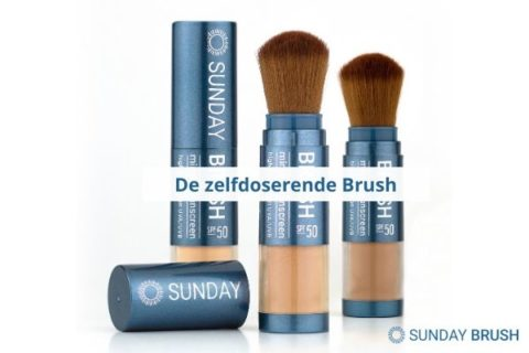 Blogfoto Sun Brush - Zelfdoserende Brush