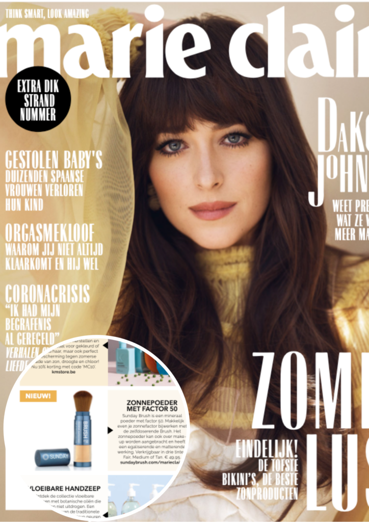 Cover Marie Claire Juni 2020 - Sunday Brush