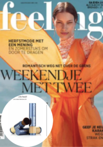 Cover Feeling news België - Sunday Brush - aug 2020