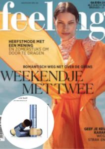 Cover Feeling news België - Sunday Brush - aug 2020